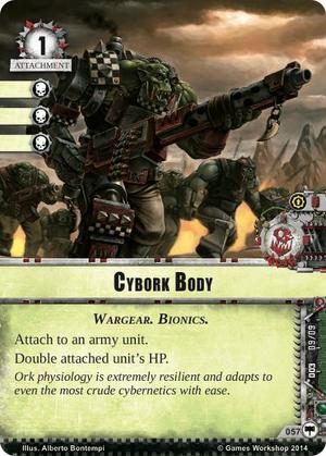 W40KC - IET: THE SIEGE OF TERRA : Dédicaces de cartes 057-cybork-body