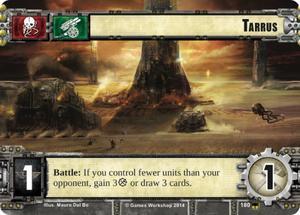 W40KC - IET: THE SIEGE OF TERRA : Dédicaces de cartes 180-tarrus