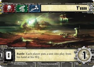 W40KC - IET: THE SIEGE OF TERRA : Dédicaces de cartes 183-yvarn