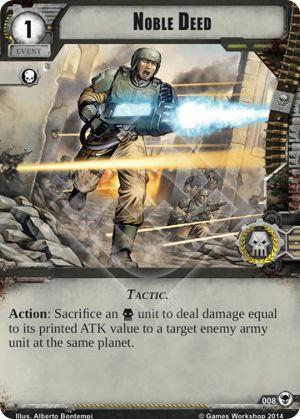 W40KC - IET: THE SIEGE OF TERRA : Dédicaces de cartes 008-noble-deed