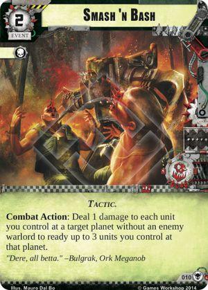 W40KC - IET: THE SIEGE OF TERRA : Dédicaces de cartes 010-smash-n-bash