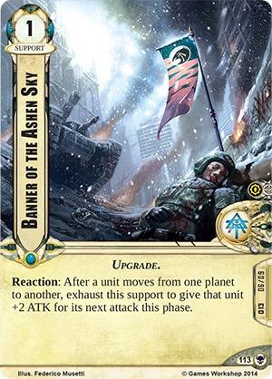W40KC - IET: THE SIEGE OF TERRA : Dédicaces de cartes 113-banner-of-the-ashen-sky