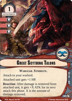W40KC - IET: THE SIEGE OF TERRA : Dédicaces de cartes 005-great-scything-talons