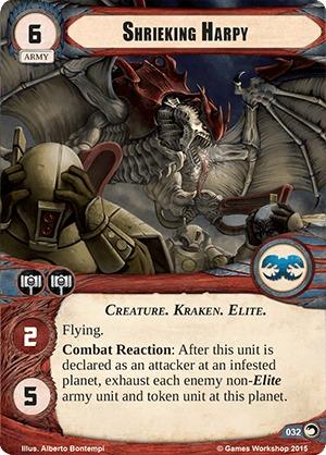 W40KC - IET: THE SIEGE OF TERRA : Dédicaces de cartes 032-shrieking-harpy