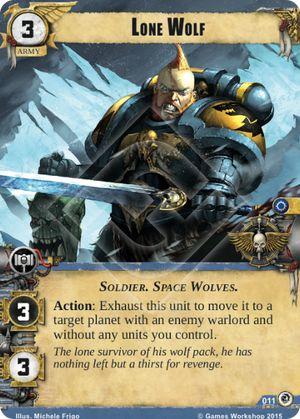 W40KC - IET: THE SIEGE OF TERRA : Dédicaces de cartes 011-lone-wolf