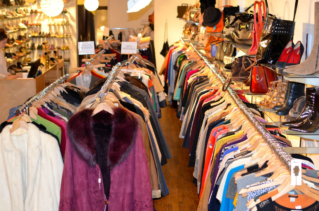 Second Time Around high end consignment new york city nyc east village upper east side