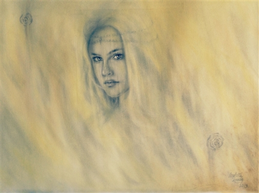 Veil<br>Graphite on Paper, Drawings