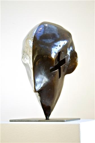Mind 2<br>Bronze, Sculpture