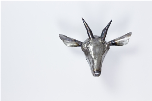 Goat<br>Unicum in Steel, Sculpture