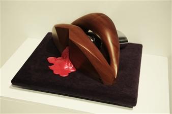 Patricia Olguín - Waiting for a Kiss Mixed Media, Sculpture