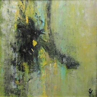 A. Cornelia Weigle - Hope Acrylic on Canvas, Paintings