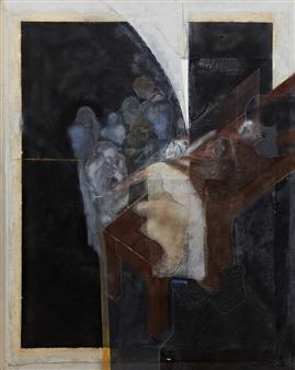 Pedro Alberti - Word Healing Acrylic & Mixed Media on Canvas, Mixed Media