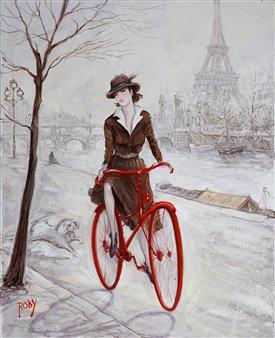 Rody - Parisian Oil on Canvas, Paintings