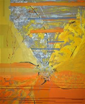 Cristina Prieto Crespi - Natura IV Oil on Canvas, Paintings
