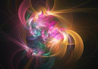 Enrico Ambrosio - Flowers Dream Digital Artwork on Canvas, Digital Art