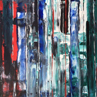 Pao Lettieri - Vos Acrylic on Canvas, Paintings