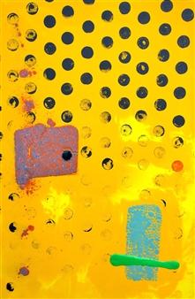 Gabriel Riggioni - Amarillo Acrylic on Canvas, Paintings