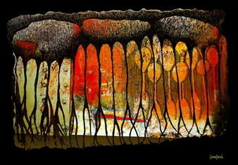 Goodash - Dead End Digital Print on Canvas, Prints