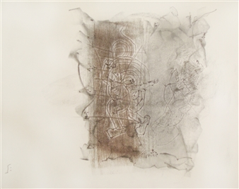 Pep Mazzini - All Around Charcoal on Paper, Drawings