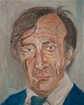 Vandana Nittoor - Portrait Oil on Canvas, Paintings