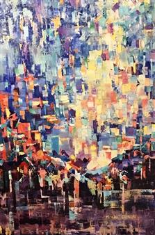 Monika Gloviczki - Birthday Oil on Canvas, Paintings