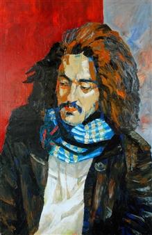 Christian Barbosa - Beresnak Oil on Canvas, Paintings