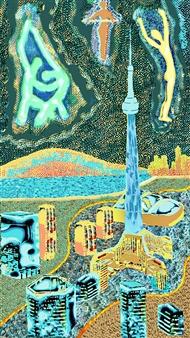 Sergey Kir - Toronto Variations Digital Print on Canvas, Prints