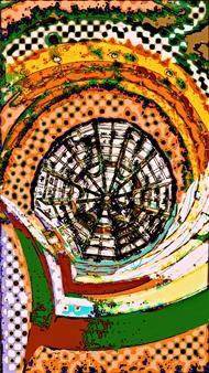 Sergey Kir - Maze Digital Print on Canvas, Prints