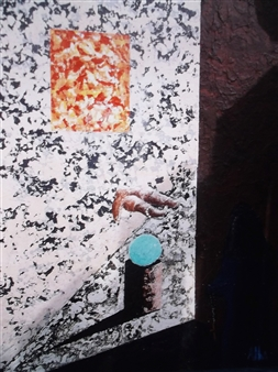 Frank M. Alba - Lola Said No Acrylic on Canvas, Paintings
