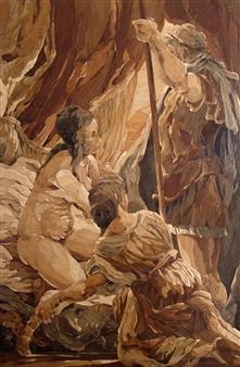 Alexander Adam - Calypso Wood, Sculpture
