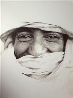Yuliya Pogreb - Bedhuin Dry Oil on Canvas, Paintings