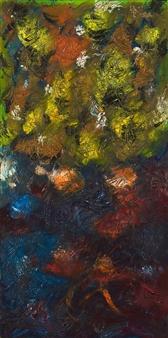 Irina Goryunova - Kitsune Oil on Canvas, Paintings