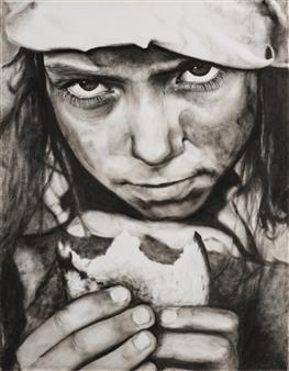 Yuliya Pogreb - Gypsy Dry Oil on Canvas, Paintings