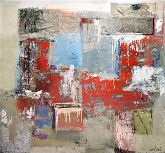 Goodash - Deserted Studio Digital Print on Canvas, Prints