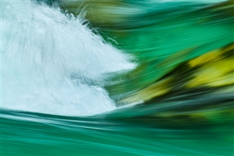 Mark James Ford - Back Flow Photograph on Acrylic Glass, Photography
