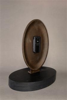 Richard Light - The Death of Conversation Bronze, Sculpture