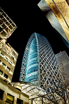 Karl Girardet - Cocoon Tower Tokyo Photograph on Hahnemühle Paper, Photography