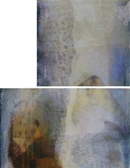 Sheree Friedman - Earth, Air, Water, Space Diptych 2 & 3 Plexi-Sandwiched Print on Resin Coated Paper, Prints