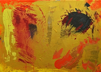 Oliwia Biela - Sacra Conversatione Oil & Acrylic on Canvas, Paintings