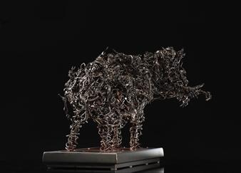 Banjerd Lekkong - View 8 - 11 Monkey Kings Metamorphosed into Three-Headed Elephant (The Mighty Erawan) Iron