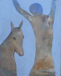 Lars Aukrust - Untitled 1 Acrylic on Canvas, Paintings
