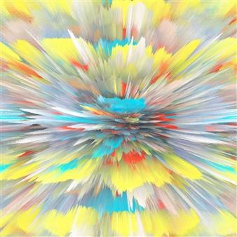 Alex Osborne - Centerfold 3D Archival Digital Print on Panel, Digital Art