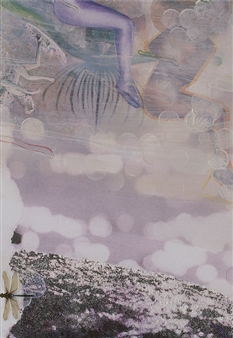 Sheree Friedman - They Emerge C - Right Panel (triptych) Plexi-Sandwiched Print on Resin Coated Paper, Other Category