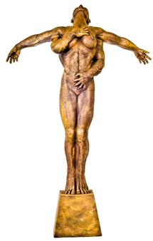 German Arzate - Mia (Mine) Bronze, Sculpture