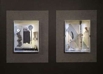 Ellen Burnett - Faith in the Future Mixed Media & Found Objects, Sculpture