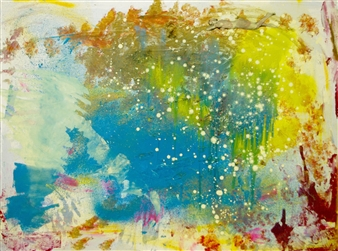 Oliwia Biela - Mojito Acrylic & Oil on Canvas, Paintings