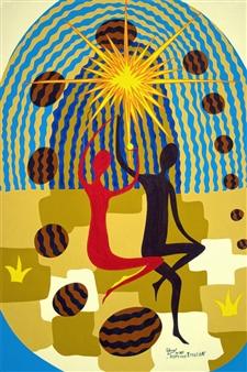 Sofya Tsvetikova - Creation Acrylic on Canvas, Paintings