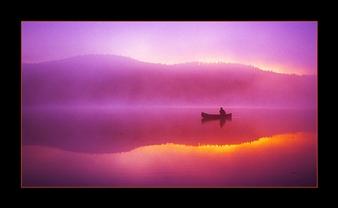 Scott Forsyth - Symmetrical Serenity Giclee Print, Photography