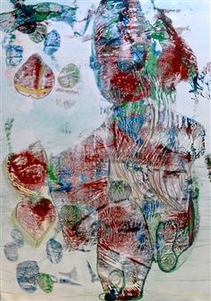 Volkmar Jesiek - Troll Mixed Media on Canvas, Mixed Media