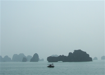 Wallace - Grey Day (Ha-Long Bay) Photographic Print on Fine Art Paper, Photography